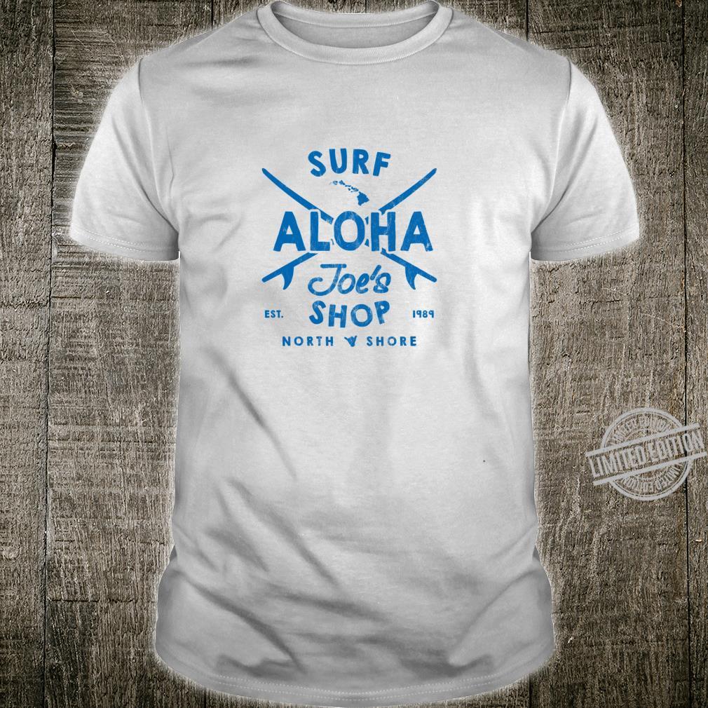 Aloha Joe's Haleiwa Surf Shop Board Rider Logo Langarmshirt Shirt