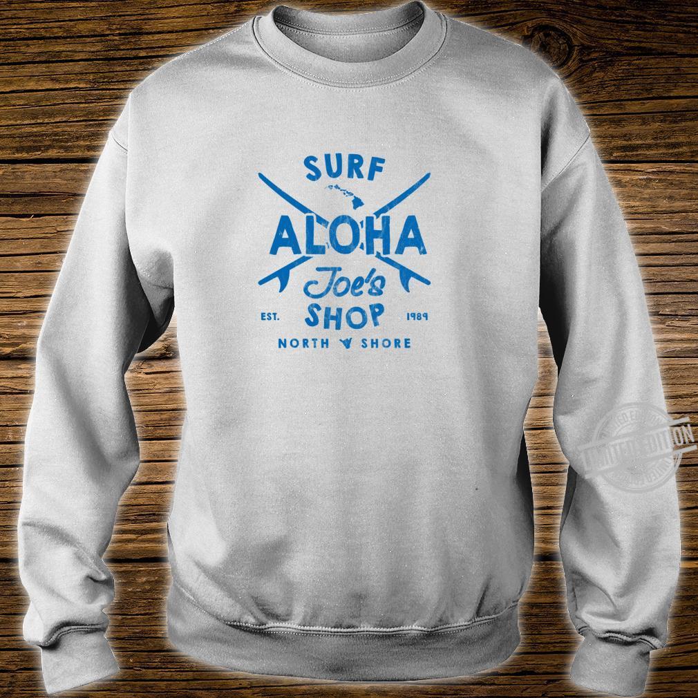 Aloha Joe's Haleiwa Surf Shop Board Rider Logo Langarmshirt Shirt sweater