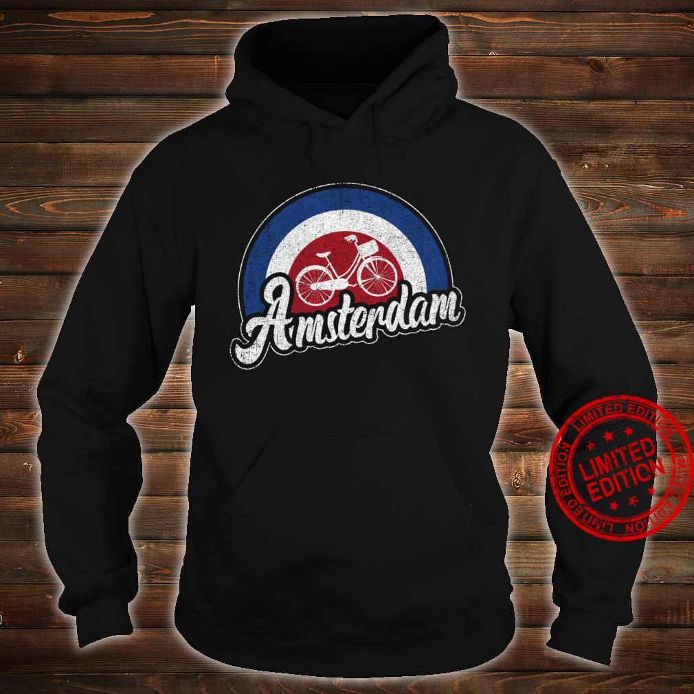 Amsterdam Bike Retro City Cycling Dutch Souvenir Shirt hoodie
