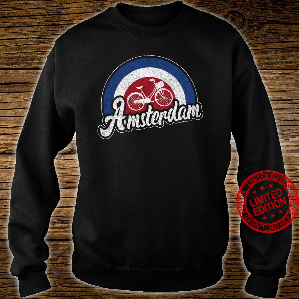 Amsterdam Bike Retro City Cycling Dutch Souvenir Shirt sweater
