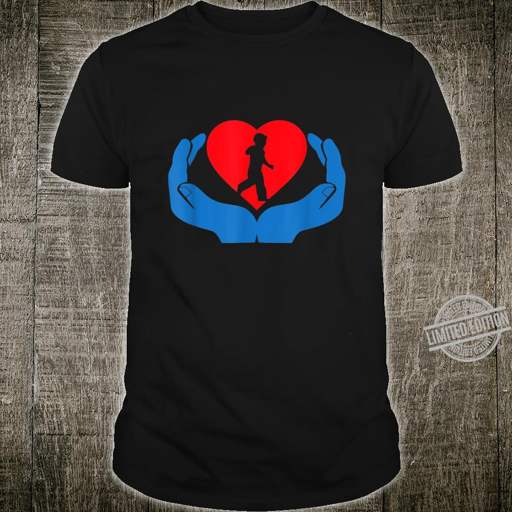 Autism Awareness My Hand Heart for Support Shirt