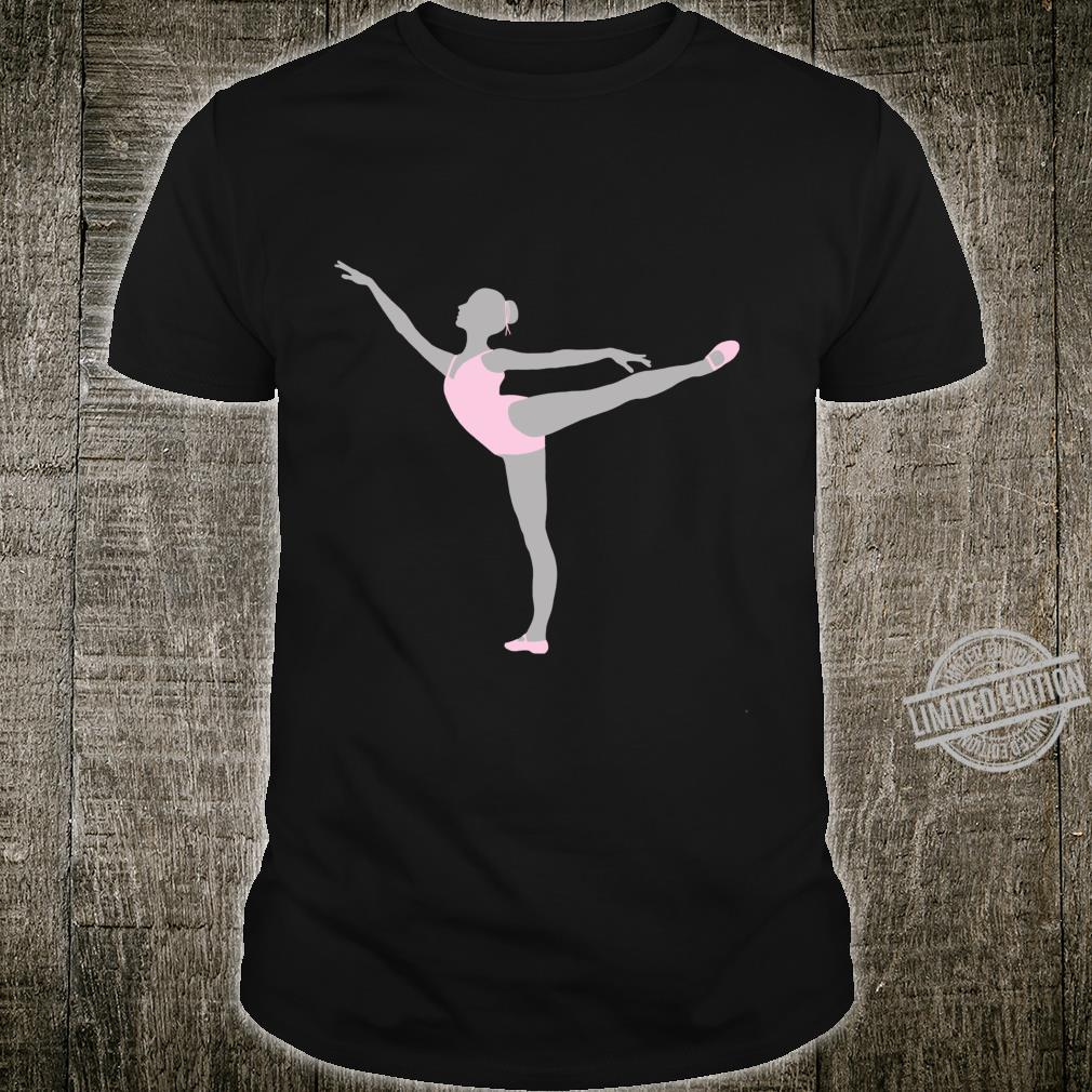 Ballet Dancer Arabesque Dance Position Graceful Dancers Shirt