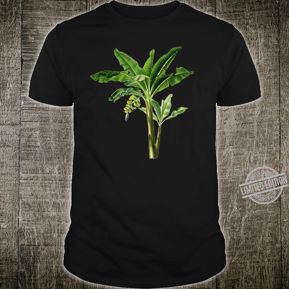 Banana botanical vintage Beautiful flower Shirt