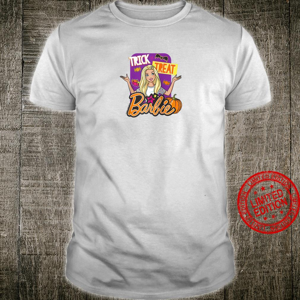 Barbie Halloween Trick or Treat Shirt