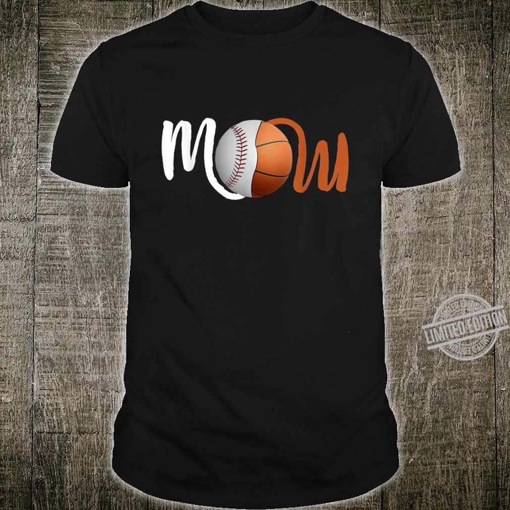 Baseball Basketball Mom of Player for Mother's Day Shirt