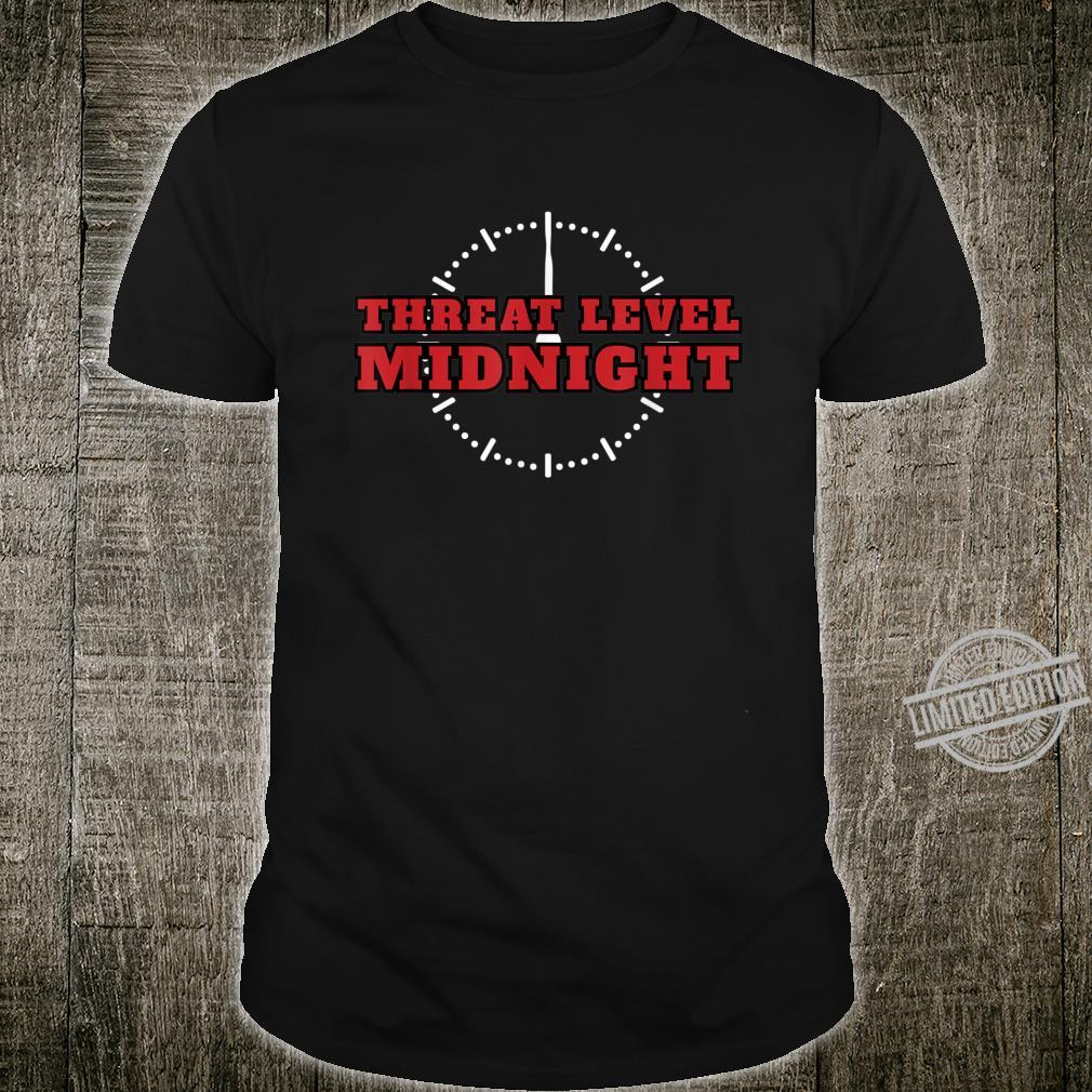 Bedrohungsstufe Mitternacht Threat Level Midnight Shirt