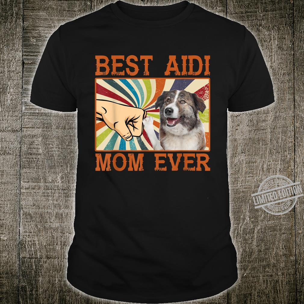 Best Aidi Mom Ever Mother's Day Retro Shirt
