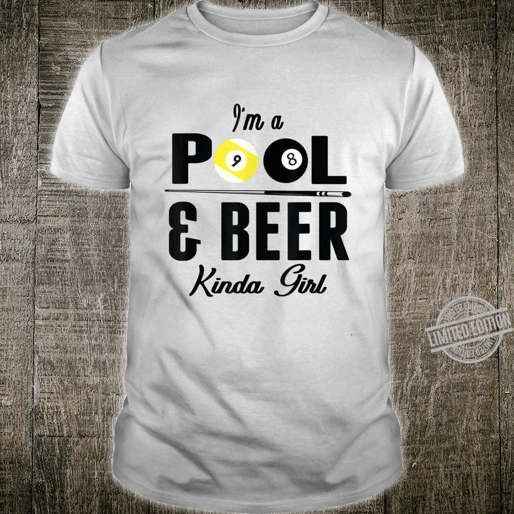 Billiard Team Play Pool Kinda Girl Billiard Shirt