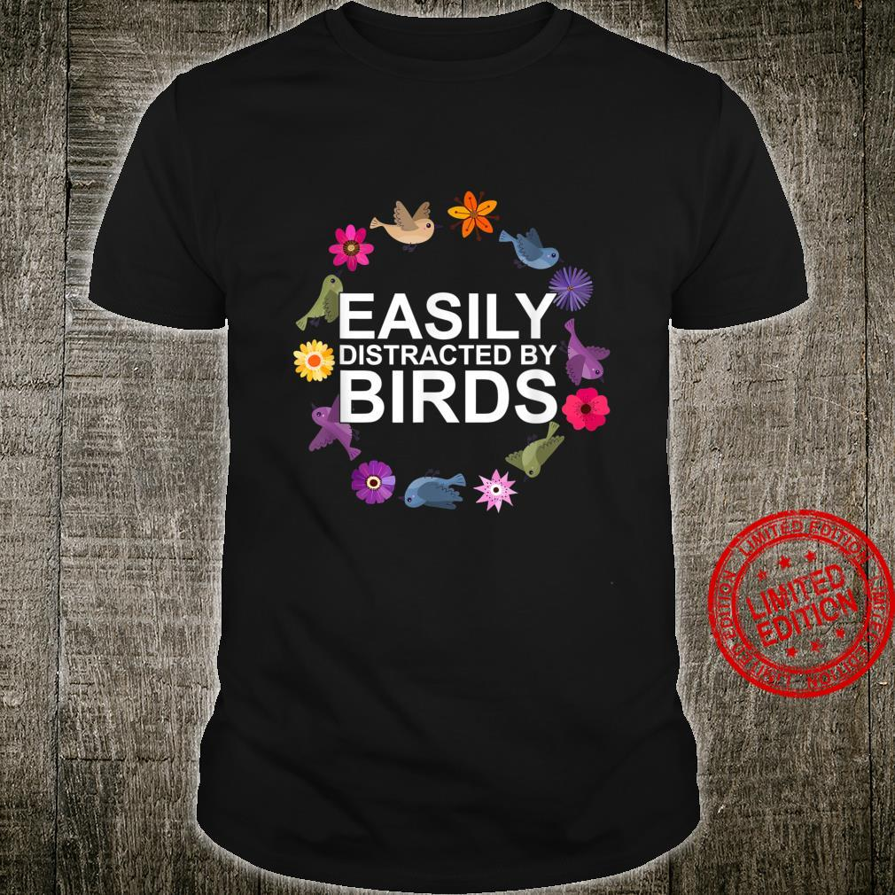 Birdwatching Ornithologist Bird Shirt