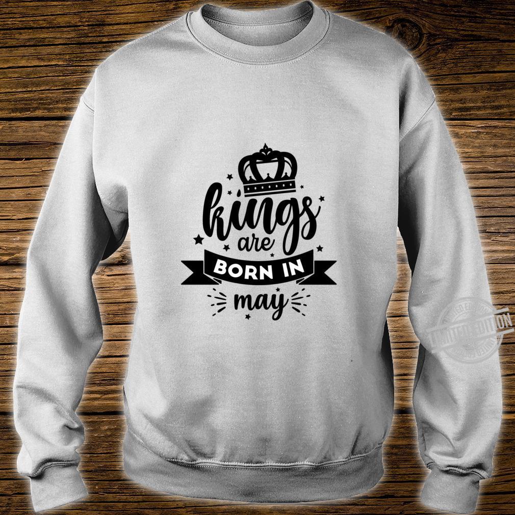 Birthday King May Lightweight Shirt sweater