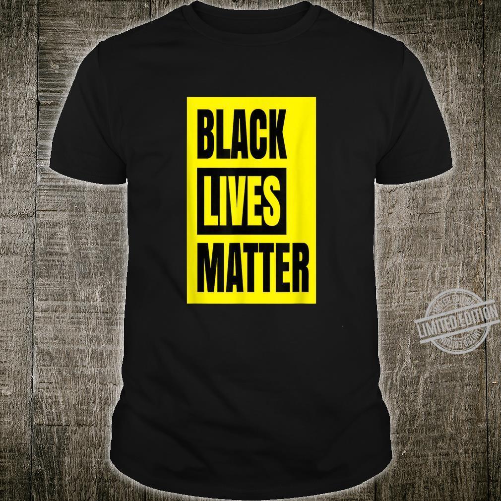 Black Lives Matter Civil Rights BLM Protest Black Power Shirt