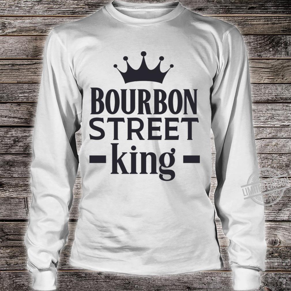 Bourbon Street King Shirt long sleeved