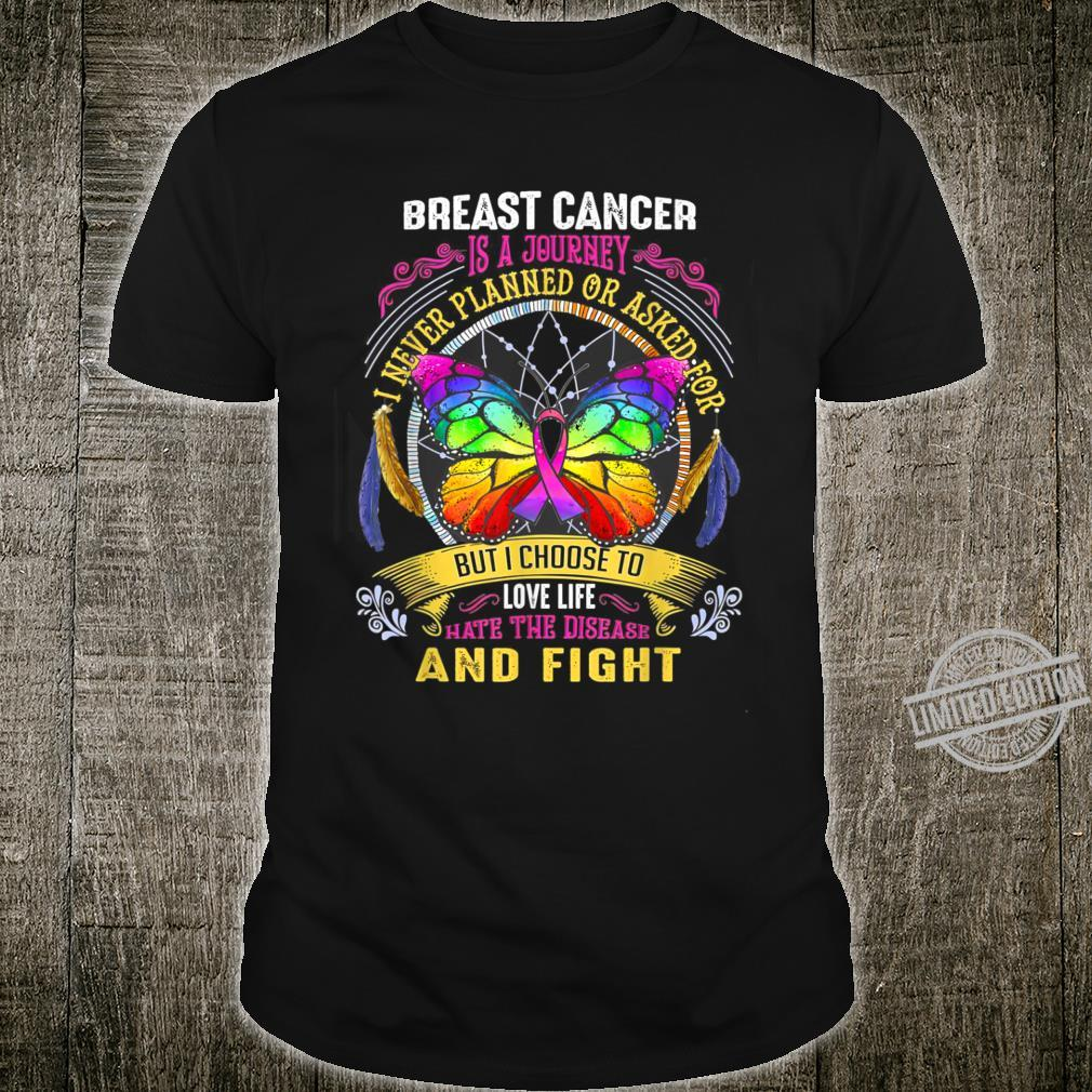 Breast Cancer Is a Journey Breast Cancer Shirt