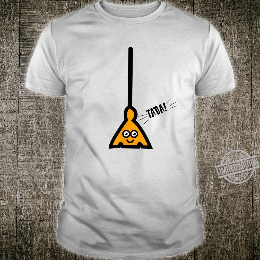Broom Challenge Viral Shirt Cute Drawing Boys Girls Shirt