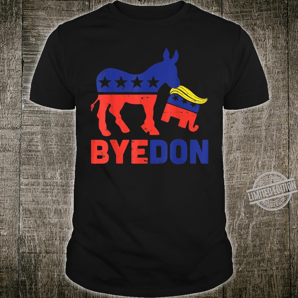Byedon Democrat Donkey Republican Elephant AntiTrump Shirt