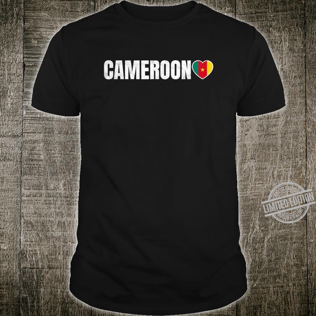 Cameroon Flag Shirt