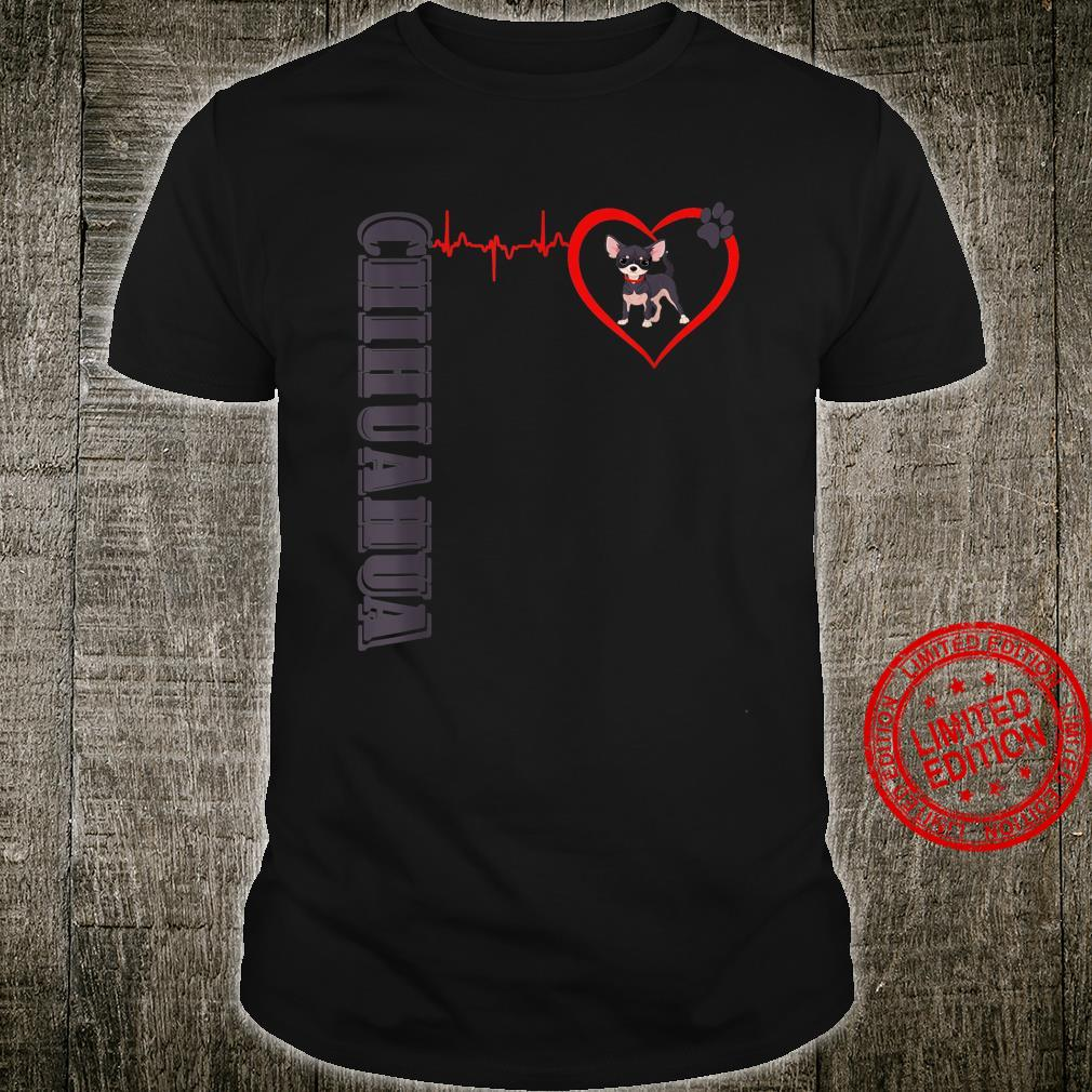 Chihuahua Heartbeat Chihuahua Dog Shirt