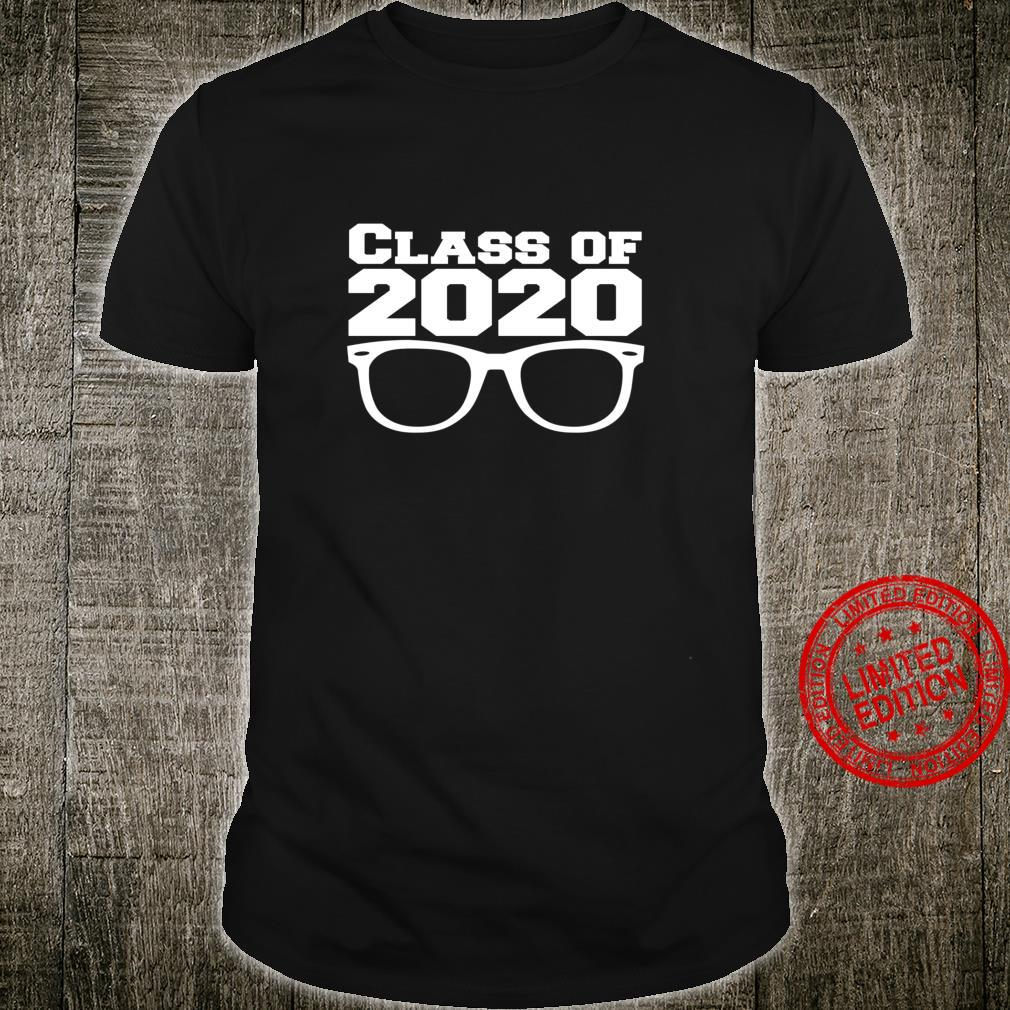 Class of 2020 Pun Glasses Perfect Vision School Pride Shirt