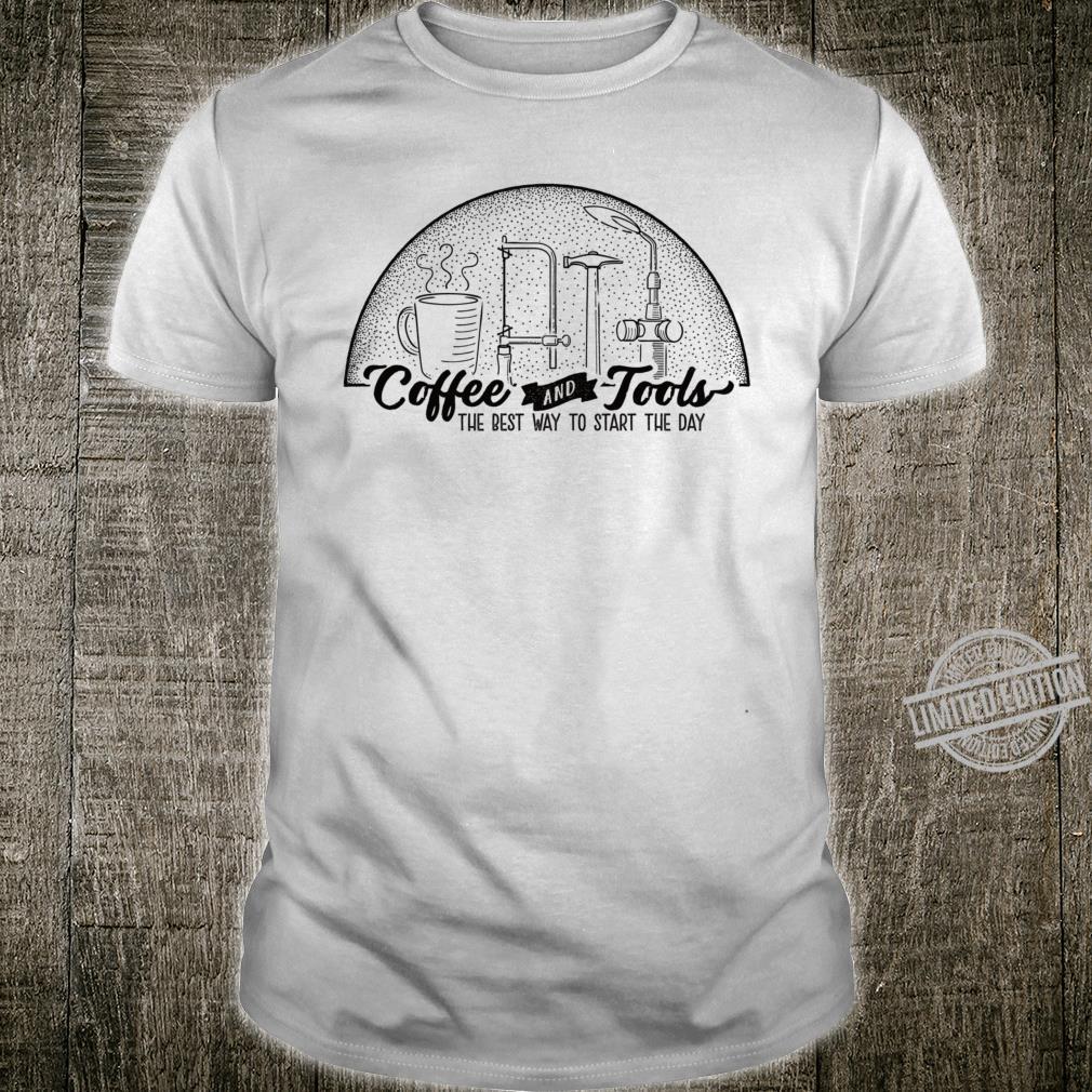 Coffee and metalsmith tools Shirt