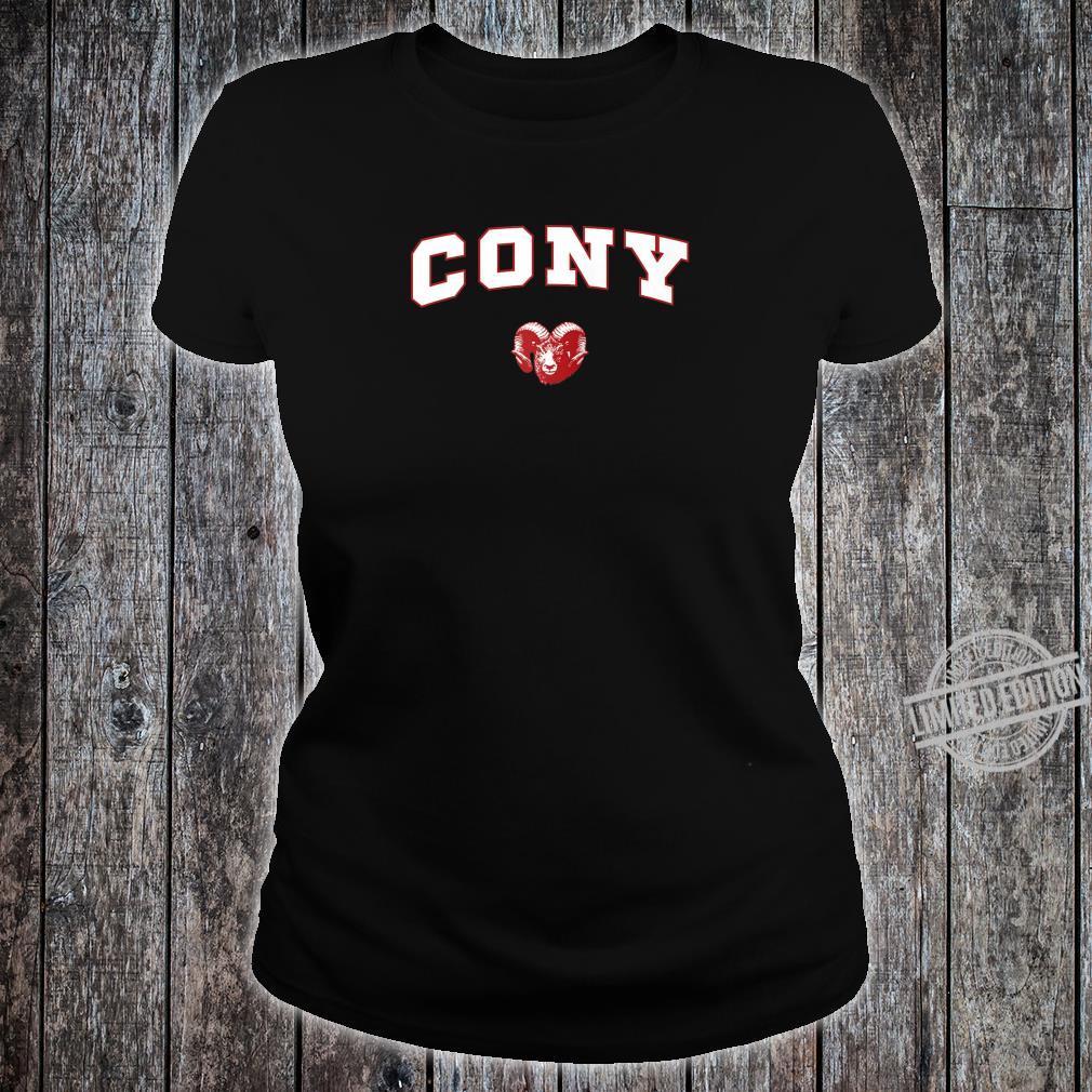 Cony High School Rams Shirt ladies tee