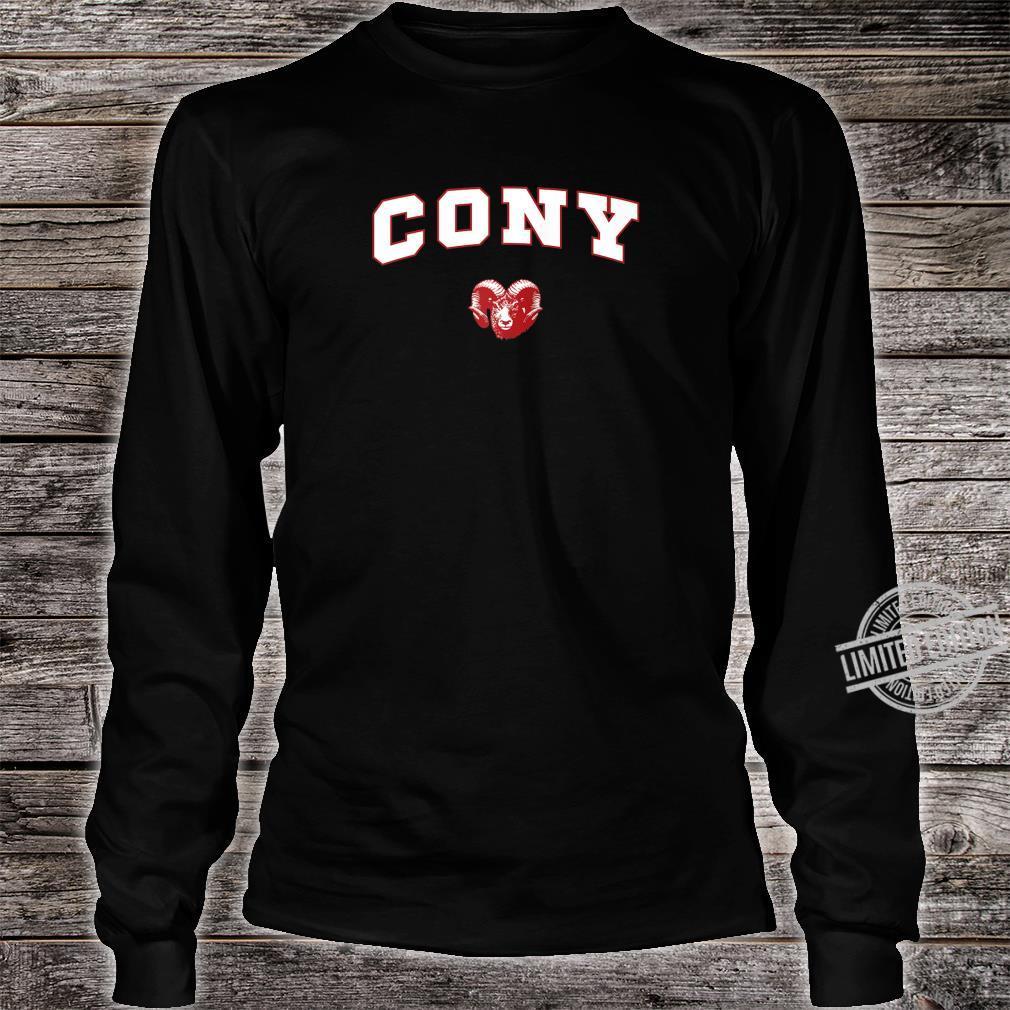 Cony High School Rams Shirt long sleeved