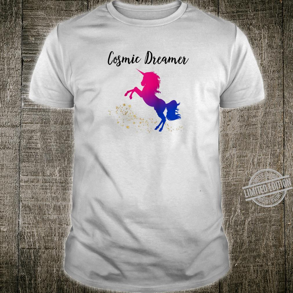 Cosmic Dreamer Unicorn,Unicorn Shirt,Unicorn Shirt