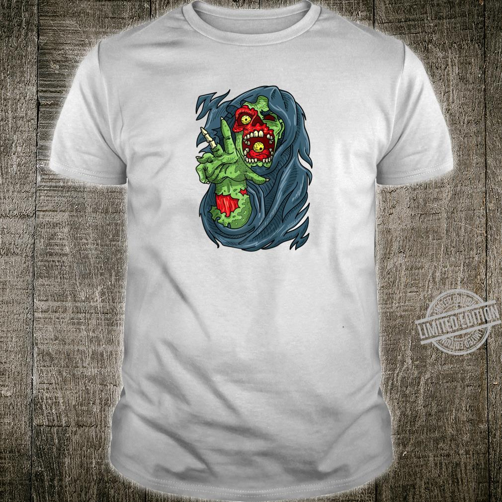 Creepy Zombie for Horror Fans and Halloween Shirt