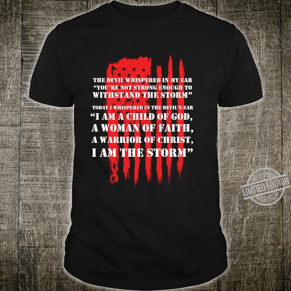 Cute Christian Salvation Quote I Am a Child of God Shirt