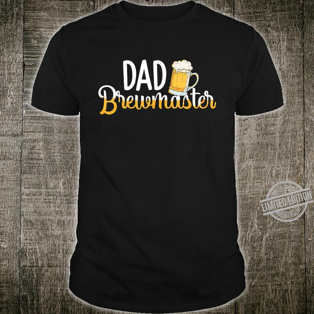 Dad Brewmaster Brewer Brewmaster Outfit Brewing Shirt
