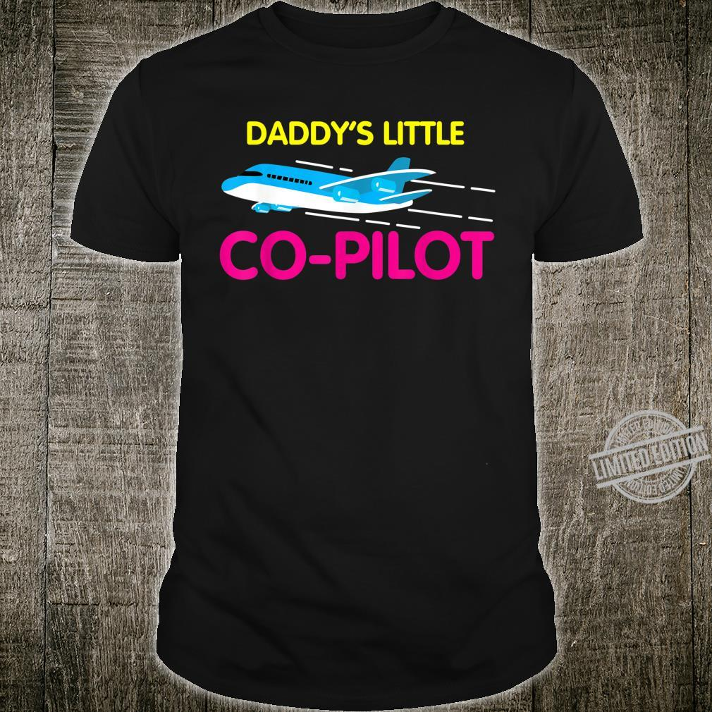 Daddy's Little CoPilot Cool Flier Shirt