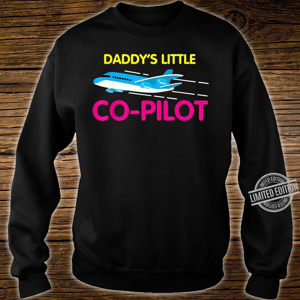 Daddy's Little CoPilot Cool Flier Shirt sweater