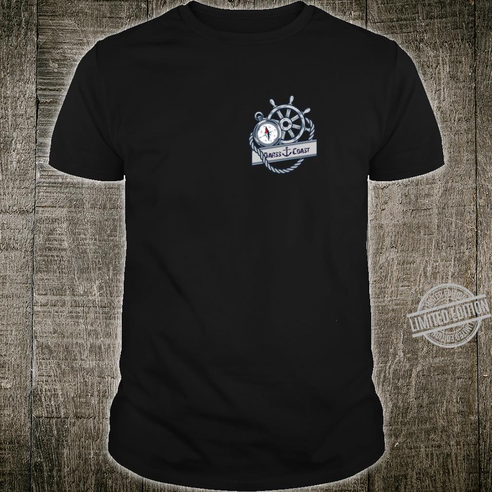 Darss Coast Kompass und Steuerrad Shirt