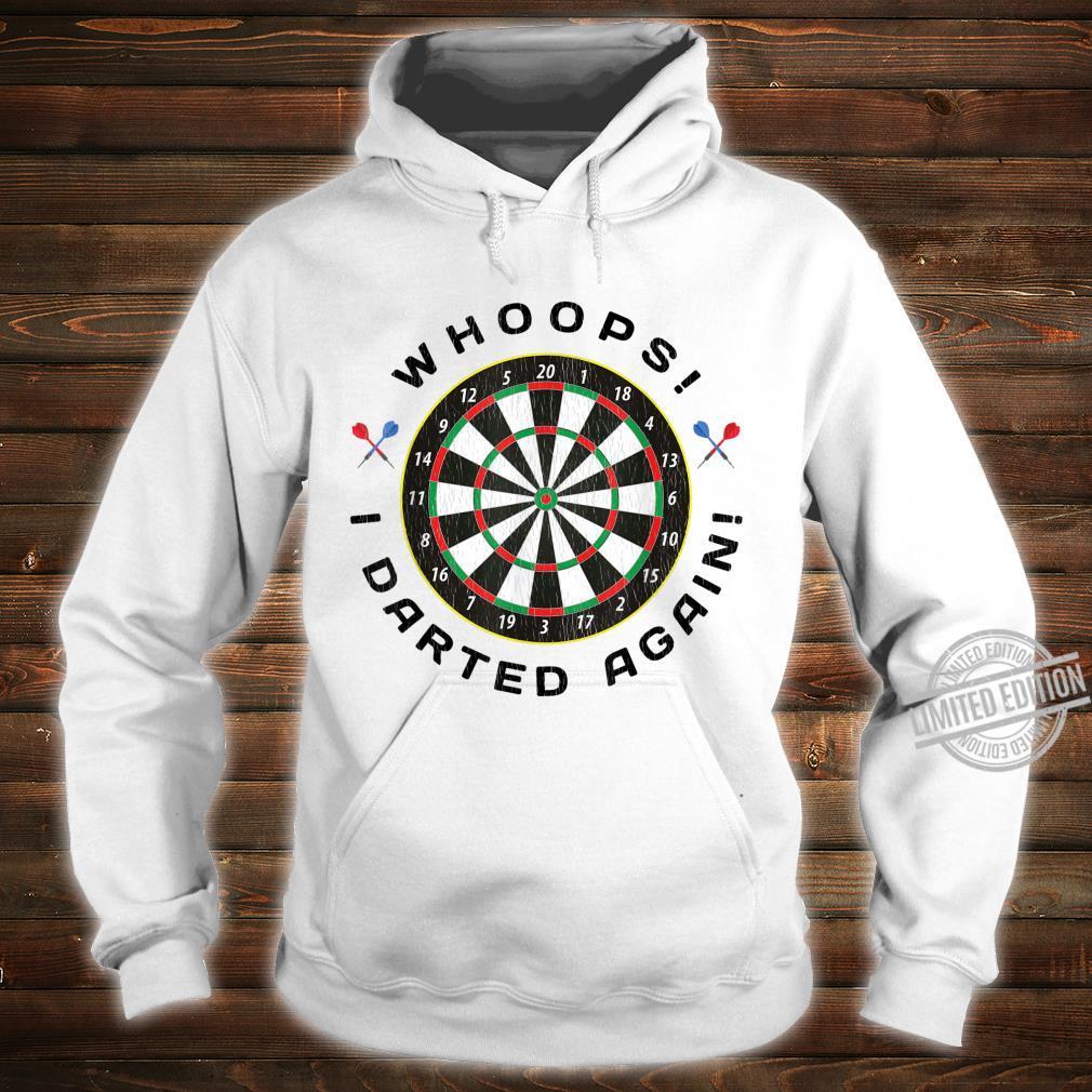 Dartboard Dart Throwing Humor Shirt hoodie