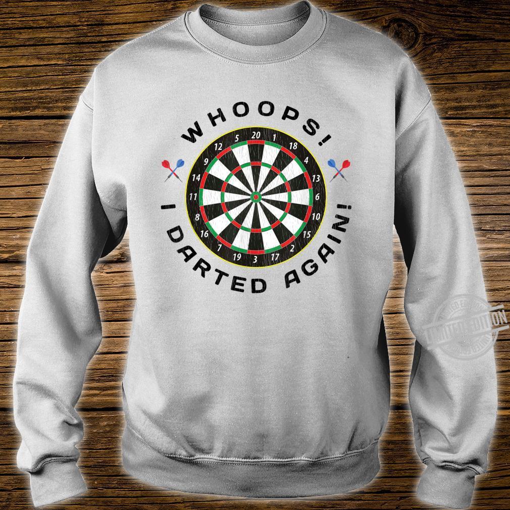 Dartboard Dart Throwing Humor Shirt sweater