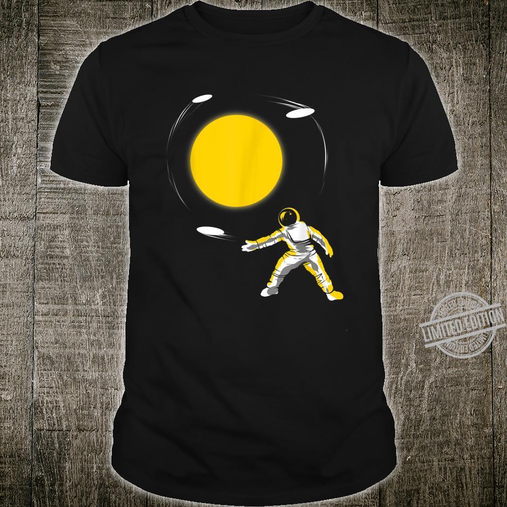 Disc Astronaut for Disc Sports Flying Disc Golf Shirt