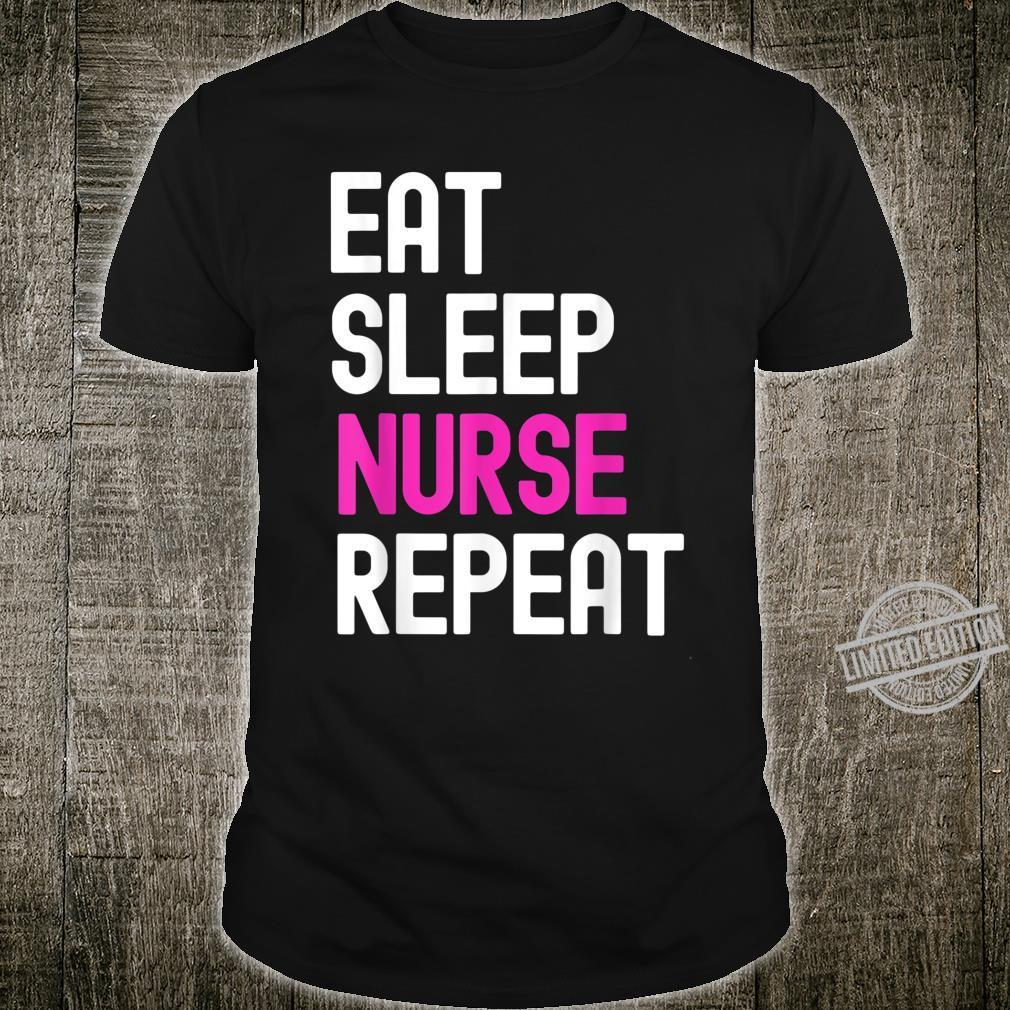 Eat Sleep Nurse Repeat Nurse Quarantine Shirt