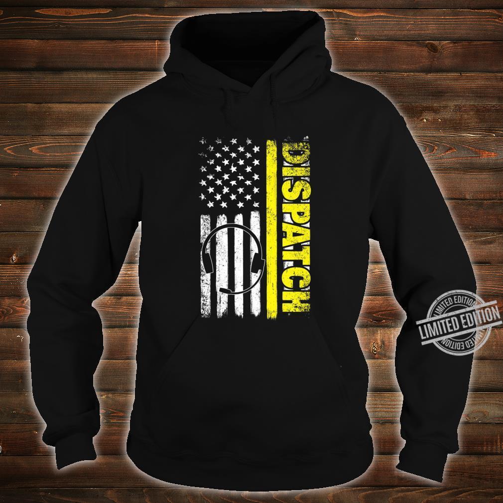 Emergency Dispatcher American Flag 911 Operator Shirt hoodie