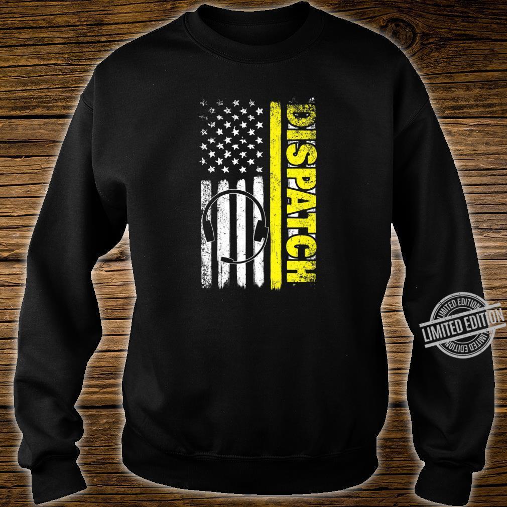 Emergency Dispatcher American Flag 911 Operator Shirt sweater