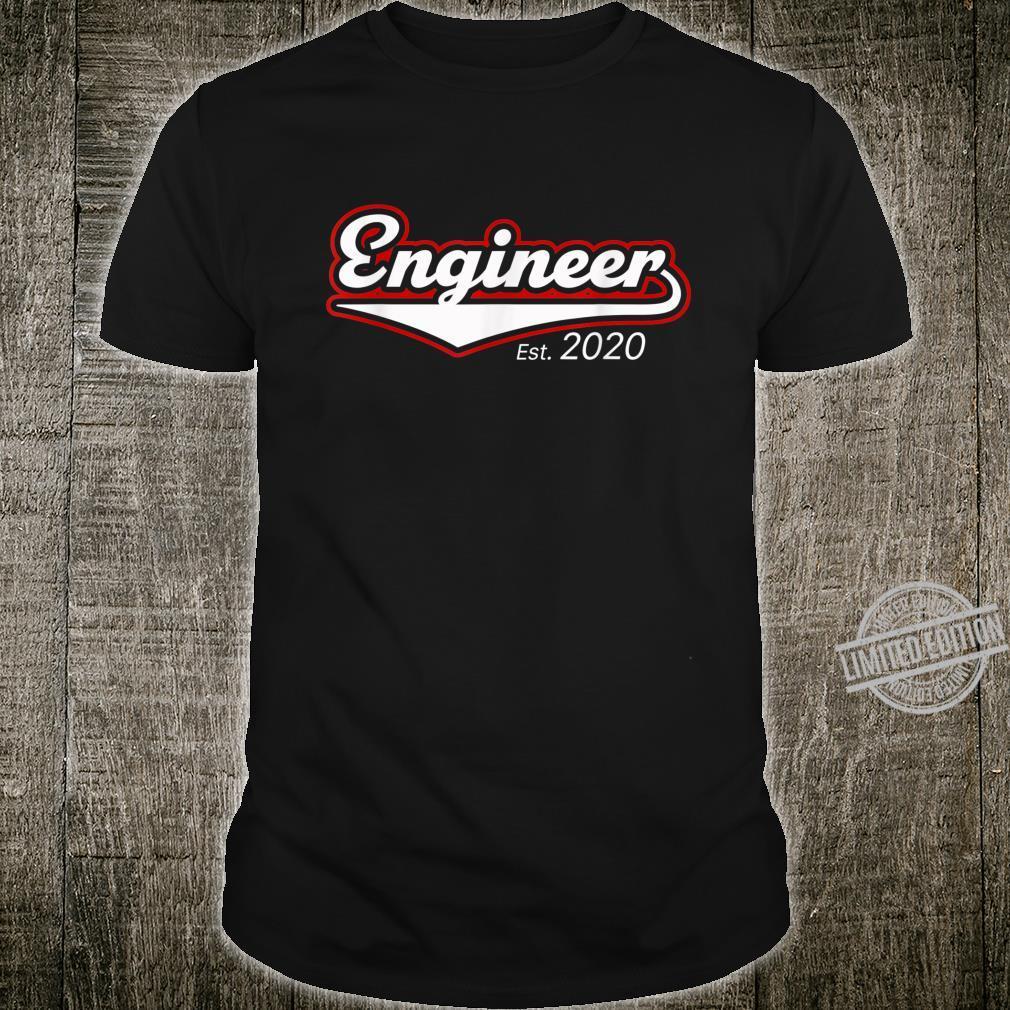 Engineer Graduation 2020 Retro Engineering Shirt