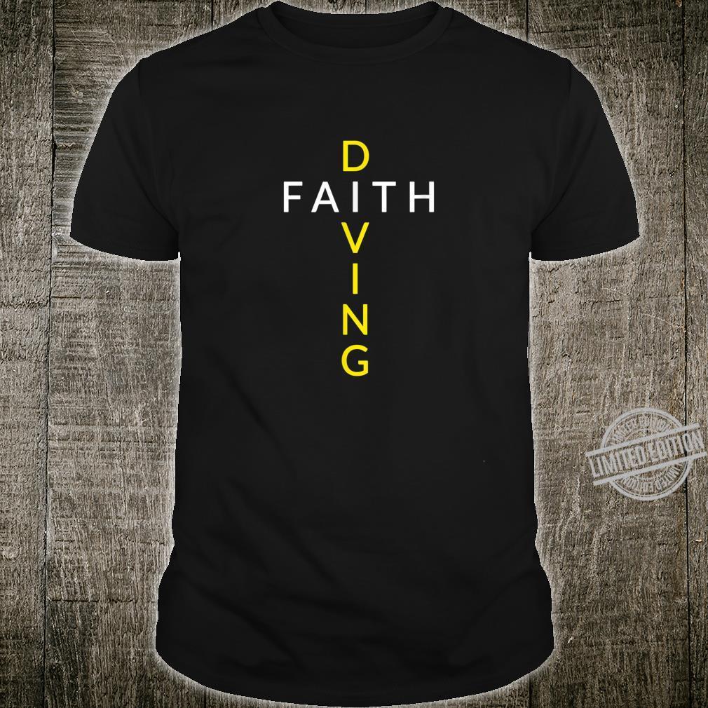Faith Diving Cross Shirt