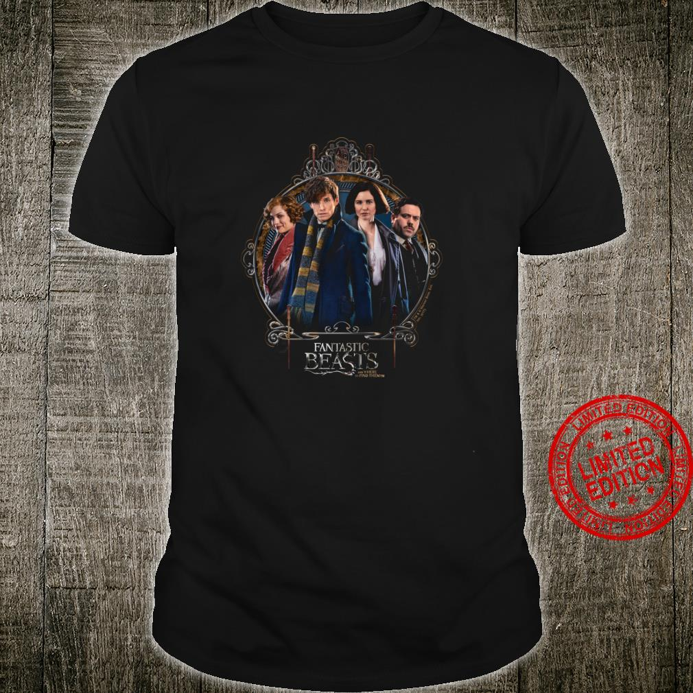 Fantastic Beasts and Where to Find Them Group Langarmshirt Shirt
