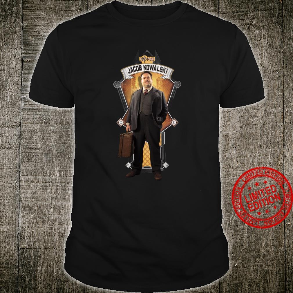Fantastic Beasts and Where to Find Them Jacob Kowalski Shirt