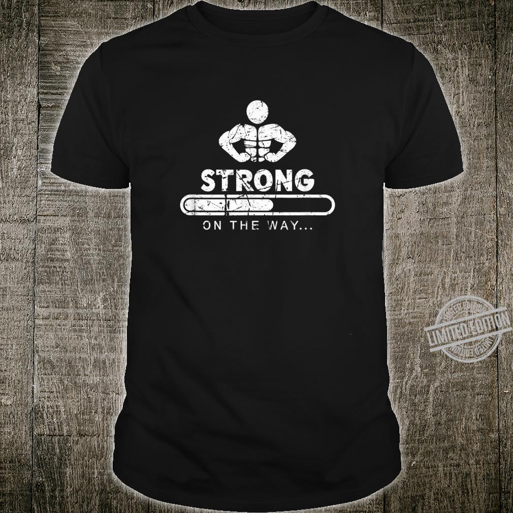Fitness Bodybuilding Gym Workout Geschenk Sport Vintage Look Shirt