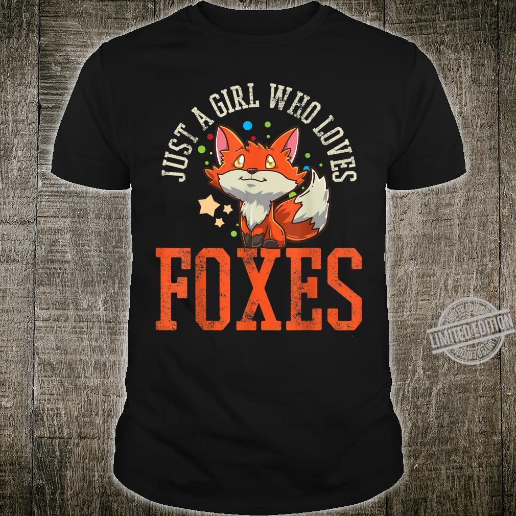 Foxes Girls Shirt