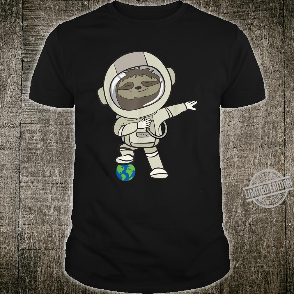 Funny Astronomer I Sloth In Space Suit I Shirt