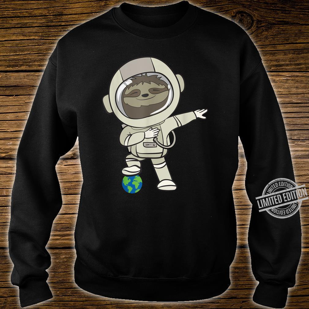 Funny Astronomer I Sloth In Space Suit I Shirt sweater