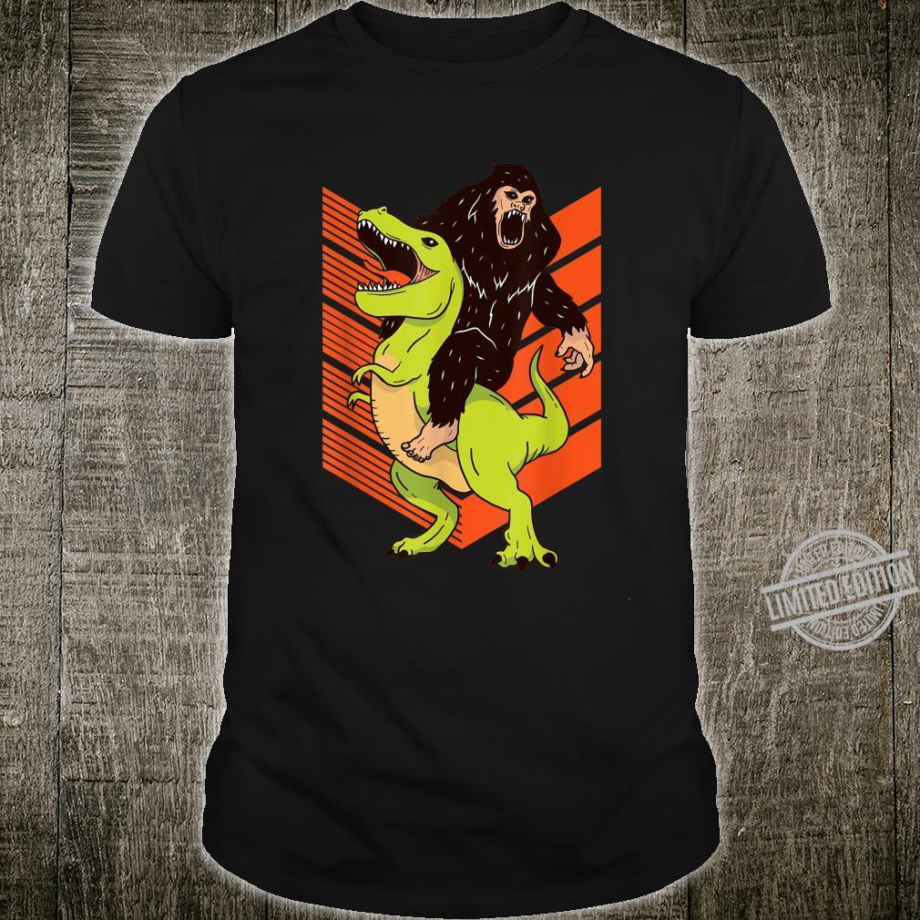 Funny Bigfoot TRex Dinosaur Shirt