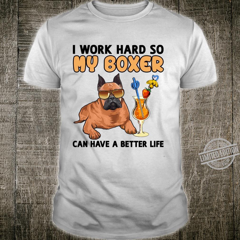 Funny Boxer Dog Lover Boxer Dog Shirt