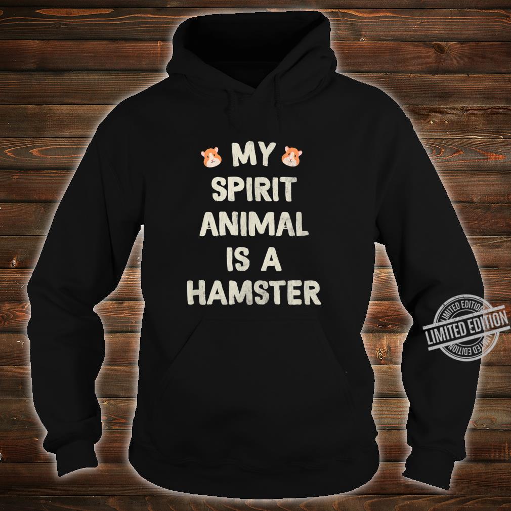 Funny Cute Hamster Shirt hoodie