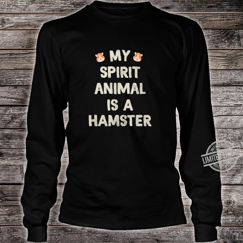 Funny Cute Hamster Shirt long sleeved